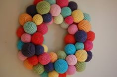 A great alternative to the traditional wreath