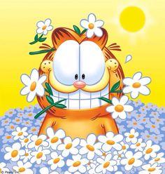 Garfield & Flowers art