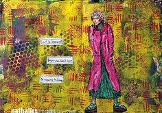 Don't Be Angry ... or Art Journal Page