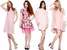 Różni je krój, wzór, projektant i styl. Łączy - kolor. Pudrowe szaleństwo trwa! Obejrzyjcie delikatnie różowe sukienki na co dzień i na wielkie wyjście :) www.saltandpepper.pl/lookbooks/pudrowy-roz/