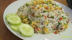 kottayam ruchi: Egg Fried Rice - Kerala Style