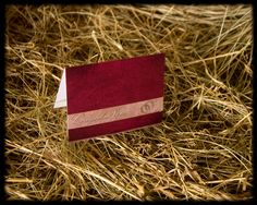 Elegant Cowgirl Notes Card-western stationery in burgundy color