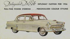 1956 DeSoto Diplomat Custom (Australia)   Flickr: partage de photos! http://www.behance.net/tristan-olphe