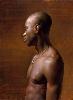 Jacob Collins  Vincent  Oil on canvas  1998