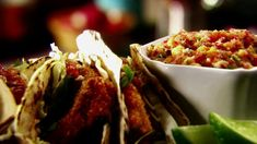 The Ultimate Fish Tacos Recipe : Tyler Florence : Food Network