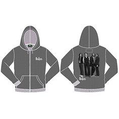 The Beatles - Beatles Hooded Top: White Album (Medium) - Marl Grey - Medium - http://bandshirts.org/product/the-beatles-beatles-hooded-top-white-album-medium-marl-grey-medium/