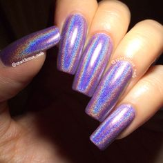 Image of Oops I Did It Again! - purple linear holo (12ml)