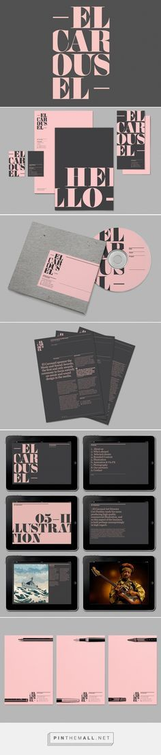 El Carousel Creative Agency Branding by Will Kinchin | Fivestar Branding Agency – Design and Branding Agency & Curated Inspiration Gallery