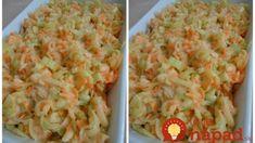Bielkovinové šaláty pre rýchle chudnutie bez JOJO efektu: Mínus 2 kg v prvom týždni, mínus 4 v druhom – a žiadne hladovanie! Cottage Cheese, Feta, Macaroni And Cheese, Shrimp, Cabbage, Rice, Vegetables, Ethnic Recipes, Mac And Cheese