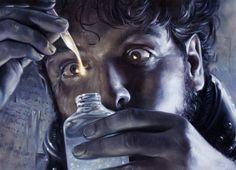 """Deep, Dark And Dangerous"": Outstanding Fantasy, Sci-Fi & Comic Book Illustrations By David Palumbo Science Fiction Book Club, Deep Dark And Dangerous, Sci Fi Comics, Link Art, Concept Art World, Oil Painters, Marvel Entertainment, Sculpture, Freelance Illustrator"