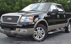 2004 Ford F150 Crew Cab Lariat 5.4L $12,500