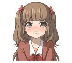 TV anime Nagi no Asukara sticker Anime Profile, Line Sticker, Anime Scenery, Otaku, Chibi, Cartoon, Stickers, Halloween, Profile Pictures