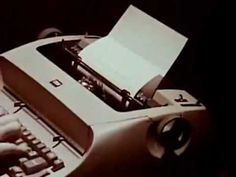 IBM Selectric Typewriters (1960s) - Classic TV Commercial