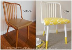 Coventry Lane Design - Sunny Dipped Chair