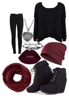 """""""Burgundy Bash"""" by elli-jane-xox ❤ liked on Polyvore featuring TOMS"""
