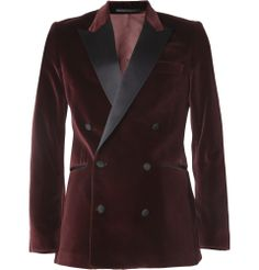 THIS JACKET IS **EVERYTHING** --> Acne Grant Slim-Fit Velvet Tuxedo Jacket | @André KardashianPORTER