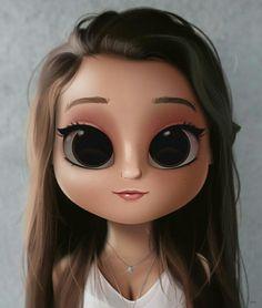 50 ideas eye iris art for 2019 Kawaii Girl Drawings, Cute Girl Drawing, Cartoon Girl Drawing, Cute Drawings, Cartoon Eyes, Illustration Mignonne, Eye Illustration, Design Illustrations, Digital Art Anime