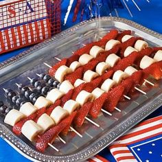 4th of July food, yum!