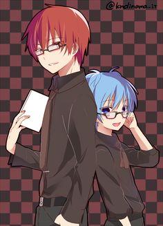Karma and Nagisa. :>