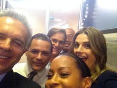 """""""@RealTonyDenison: The beautiful&talented Stana came across d lot2visit us on set! """" I was detecting some major crimes"""