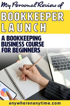 My review of Bookkeeper Launch, a how to become a Bookkeeper from home for beginners. My favorite part is on how to build a successful bookkeeping business with clients (because it's not just about learning how to do bookkeeping. Online Work From Home, Work From Home Business, Work From Home Moms, Make Money From Home, Way To Make Money, Business Tips, Make Money Online, Online Business, Small Business Bookkeeping