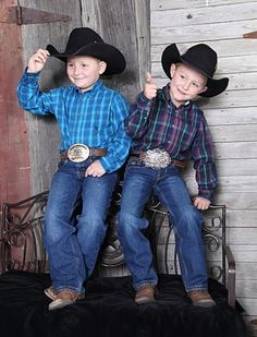 howdy ladies....love little cowboys