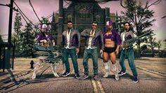 Saints Row IV 'GAT V' and 'Wild West' DLC Packs Available Today.Honor Johnny Gat or head to the Wild West with the newest Saints Row IV DLC packs. A News about Saints Row IV and its co-op game features. Saints Row Iv, New Saints, Fate Of The Furious, Nova, Games Images, World Of Warcraft, Make Money Blogging, Wild West, The Row