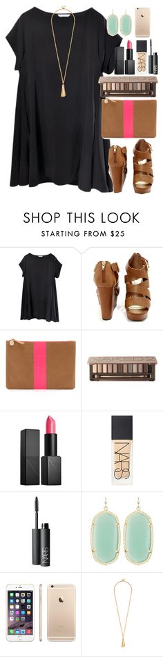 """""""#10setsforjude - Set 4"""" by lauren-hailey ❤ liked on Polyvore featuring Clare V., Urban Decay, NARS Cosmetics, Kendra Scott and 10setsforjude"""