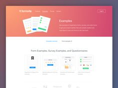 Formsite Examples by Pixelmatters #Design Popular #Dribbble #shots