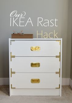 Our IKEA Rast Hack|Campaign Style|video with tips via Good Brown Gravy