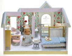 *fistuff* Sylvanian Families Cath Kidston Decorated House/Hospital/Clinic ++++ | eBay