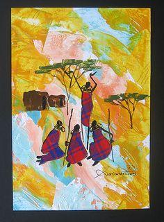 Sarah O. Shiundu, late female artist of Kenya