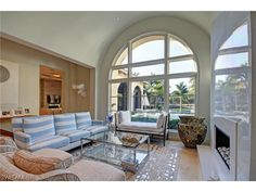 2562 Escada Ct, Naples, FL 34109 | Fresh coastal formal living room in the Escada neighborhood of Tiburon