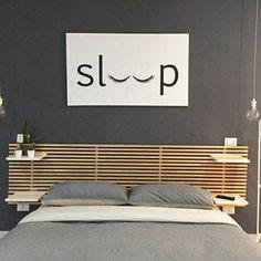 Sleep Bedroom Printable Poster Typography Print Black & | Etsy