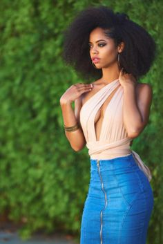 Blown Out 4C Hairstyles  - 15 Beautiful 4C Blowout Hairstyles You'll Want To Try