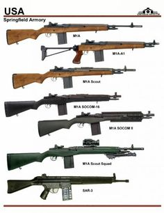 United States: Springfield Armory M1A Series, ... Weapons Guns, Guns And Ammo, Battle Rifle, Springfield Armory, Weapon Concept Art, Hunting Guns, Fire Powers, Assault Rifle, Cool Guns