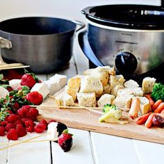 Family Fun: Slow-Cooker Fondue Party for New Years Eve