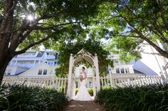 Happily ever after awaits for this beautiful Walt Disney World bride. Photo: Brittany, Disney Fine Art Photography