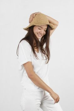 The Willow Hat brings you summer! Sunny Days, Headpiece, Sunnies, Bring It On, Hats, Summer, Beautiful, Collection, Fashion