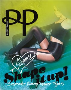 36023bf699d Shaping Tights - Shape It Up! By Pretty Polly™ Suspender Shaping Tights  Cute Store