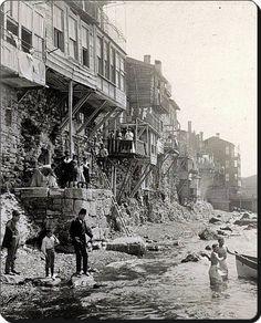 Samatya sahili 1900'ler