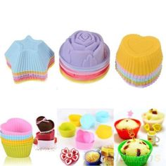 Soft Silicone Baking Cup can be used for cupcake, muffin, pizza, bread, ice, cake,cookie, chocolate, jelly or pudding. Features: Easy to use and hand wash only It's soft, flexible and reusable Suit for oven, microwave, freezer, dishwasher Keep away from direct exposure to flame and sharp objects Material: Silicone Heat [...]