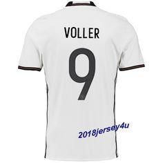 cb3136d3b ... soccer jersey green long sleeve Rudi Voller 9 UEFA Euro 2016 Germany  Home Jersey ...