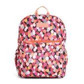 Lighten Up Just Right Backpack in Katalina Pink Diamonds | Vera Bradley