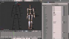 Blender Motion Capture Addon - Tutorial -BVH