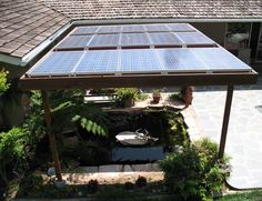solar panels california desert