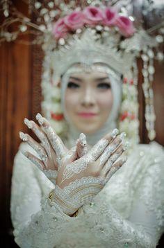 Henna of tradisional wedding