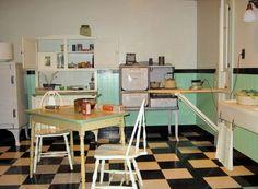 Kitchen, 1940s Kitchen: 1940s Kitchen Style in