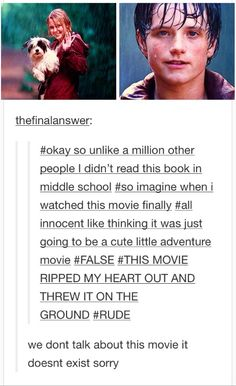 THIS MOVIE RUINED ME WE DONT TALK ABOUT IT