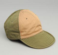 CA1-245 - FINE CHINO TWILL 6-PANEL BALL CAP, OLIVE DRAB :: HICKOREE'S